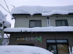 大雪の為休業です