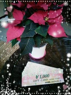 X'mas用ギフトカード♥